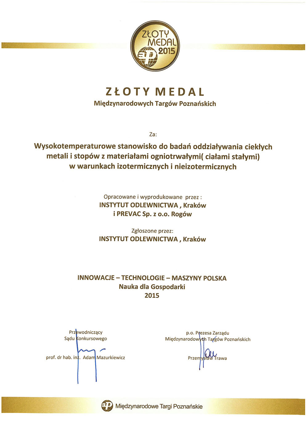 Zloty_medal_MTP2015_dyp