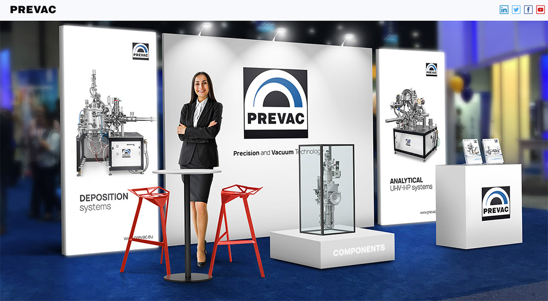 PREVAC Virtual Booth