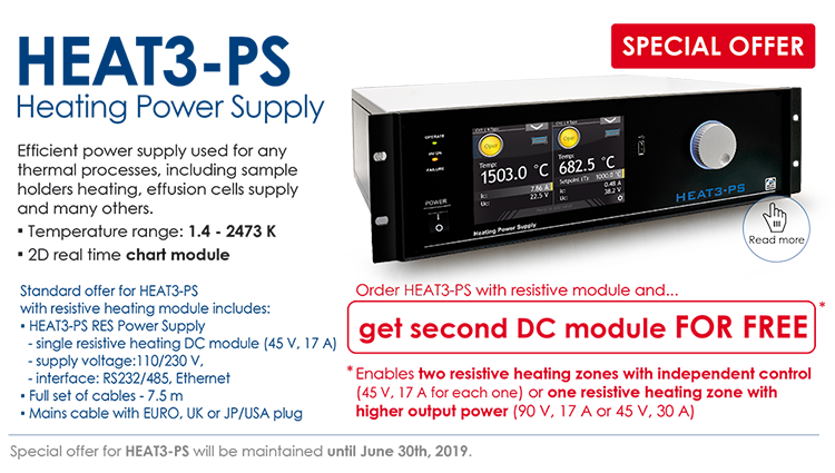 Check our special offer for HEAT3-PS Power Supply