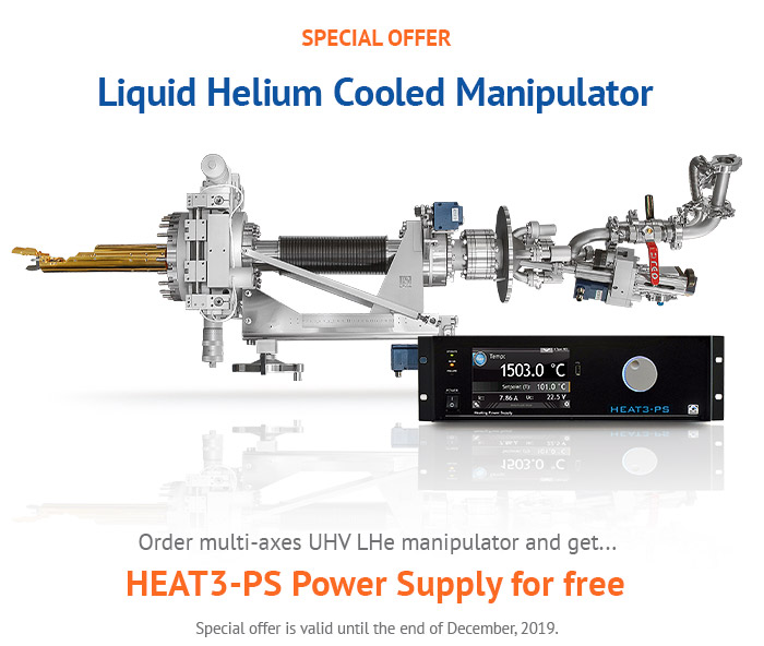 Check our special offer for Helium Manipulators