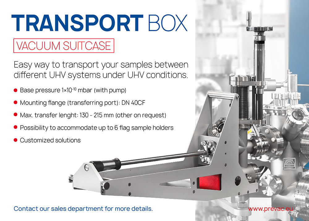 Easy way totransport you samples between different uhv systems